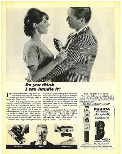 Fujica Camera ad