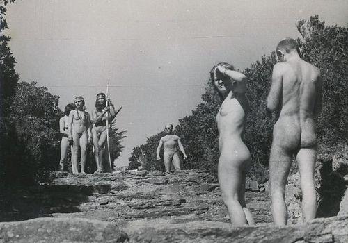 Inside a Nudist Camp 1 (vintage photos)