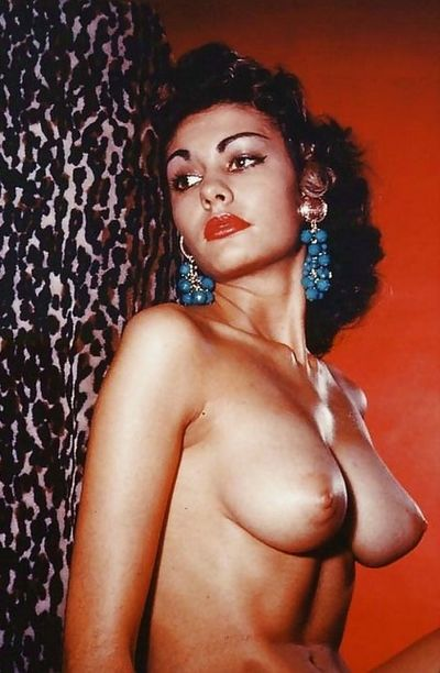 Glamorous Nude Pin-Ups, 1950s and 1970s