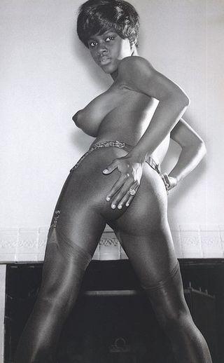 Black nude pin-ups