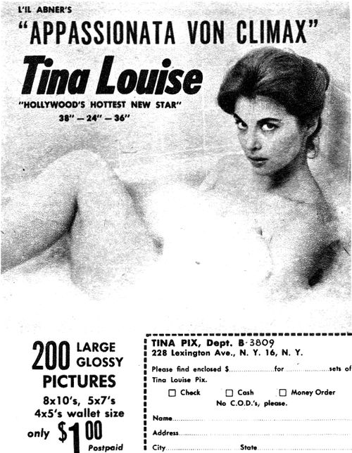 Tina Louise Hollywood S Hottest New Star